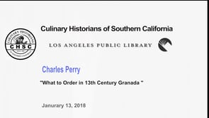 Charles Perry--What to Order in 13th Century Grenada