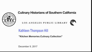 Kathleen Thompson Hill Kitchen Memories:Culinary Collection